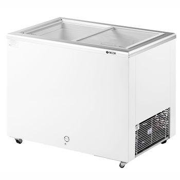 Freezer/Conservador Horizontal HCED-216 216 litros Porta de Vidro Fricon