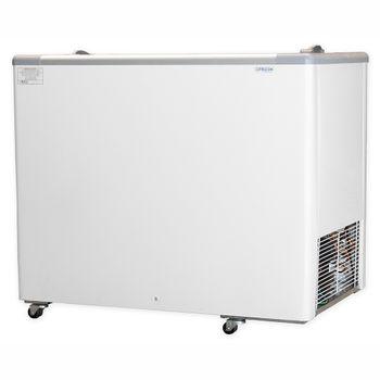 Freezer/Conservador Horizontal HCED-311 311 litros Porta de Vidro Fricon