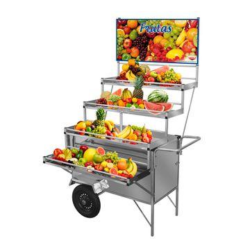 carrinho-expositor-inox-cefaz-frutas