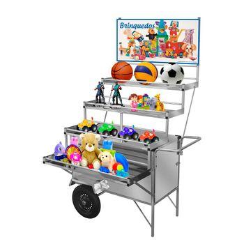carrinho-expositor-inox-cefaz-brinquedos