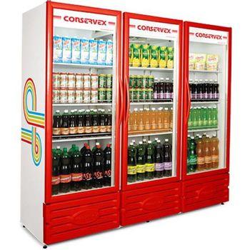 ERV-1300v-refrigerador-expositor-1300L-vermelho-3portas-Conservex
