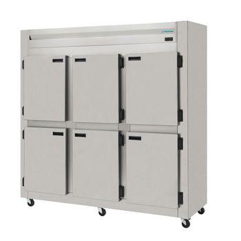 Geladeira-Refrigerador-Comercial-Aco-Inox-6-Portas-Cegas-KRES-6P-Kofisa
