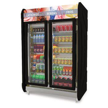 Masp-125-Refrigerador-Expositor-Vertical-Auto-Servico-MASP-125---Preto---2-Portas-Polar-Refrigeracao-1.25m--